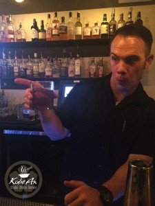 Bar Manager Mark Mangold